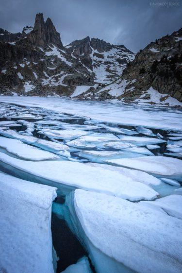 Spanien - Eissee in den Pyrenäen