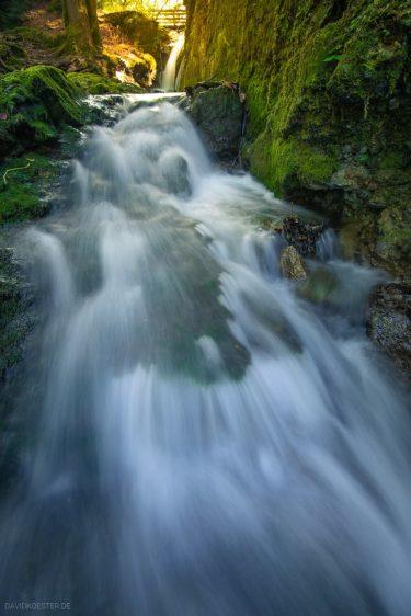 Deutschland - Geratser Wasserfall im Allgäu