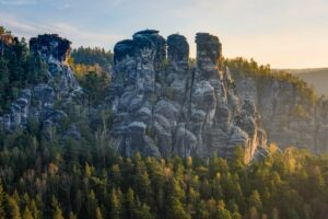 Deutschland - Felsenwelt im Elbsandsteingebirge