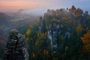Deutschland - Bastei im Herbst, Sächsische Schweiz