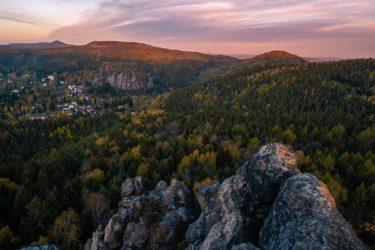 Deutschland - Zittauer Gebirge bei Oybin