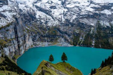 Schweiz - Gletschersee, Berner Oberland