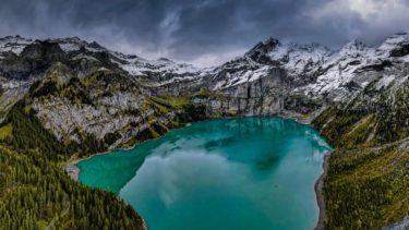 Schweiz - Oeschinensee, Kandersteg