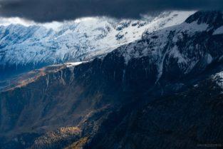 Schweiz - Am Aletschgletscher, Fiescheralp