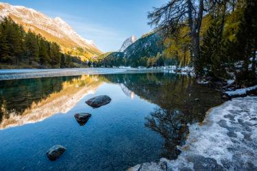 Schweiz - Palpuognasee, Engadin