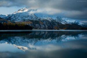 Schweiz - Silser See, Engadin