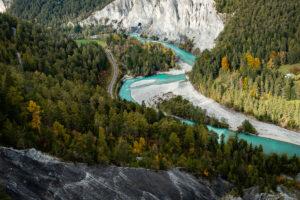 Schweiz - Rheinschlucht (Ruinaulta) bei Flims