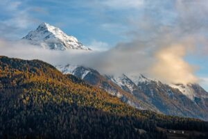 Schweiz - Herbst im Val di Campo, Bernina Pass