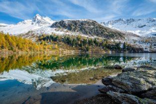 Schweiz - Lago di Viola, Val di Campo