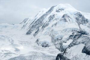 Schweiz - Gletscherlandschaft mit Parrotspitze, Wallis