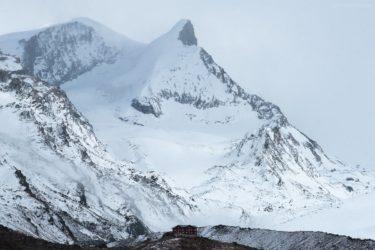 Schweiz - Hütte auf Fluhalp, Wallis