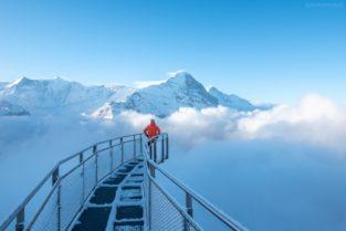 Schweiz - Brücke in den Abgrund, Grindelwald