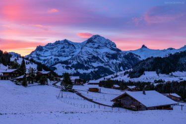 Schweiz - Adelboden im Winter