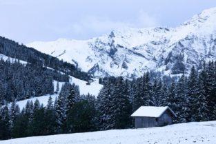 Schweiz - Winter in Adelboden