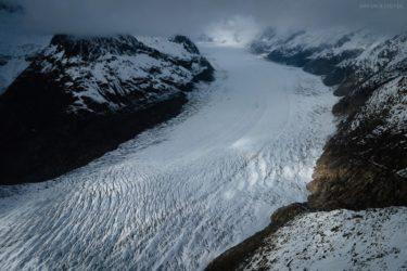 Schweiz - Aletschgletscher, Eggishorn