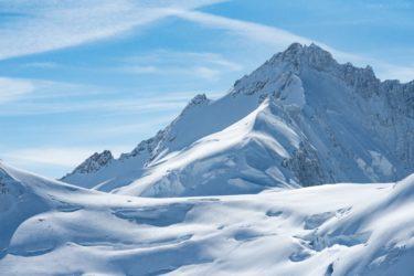 Schweiz - Gletscher- und Schneelandschaft am Jungfraujoch