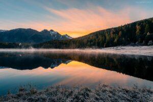 Schweiz - Stazer See, St. Moritz, Engadin