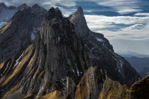 Schweiz - Alpsteinmassiv mit Säntis, Appenzeller Alpen