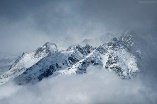 Schweiz - Walliser Alpen im Winter