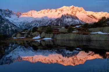 Schweiz - Moorsee am Dammagletscher, Göscheneralp, Uri