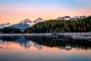 Schweiz - Stazer See, St. Moritz