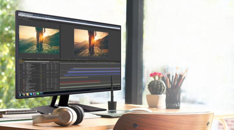 Helligkeit und Kontrastverhältnis sind wichtige Eigenschaften eines Monitors für Fotografen.