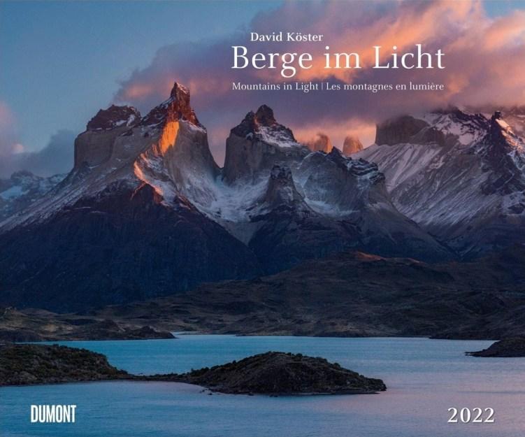 berge im licht 2022 Dumonzt Kalender David Köster