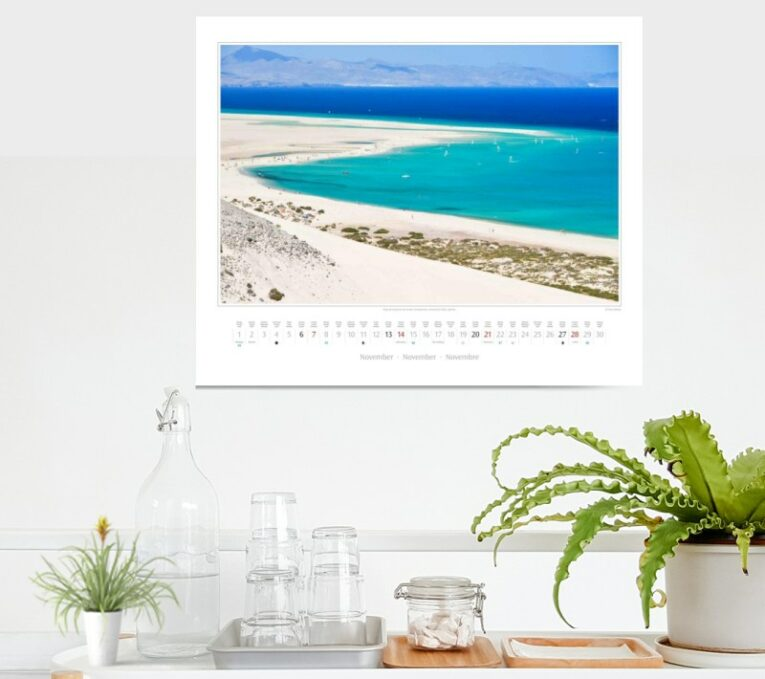 Landschaftsfotografie Kalender - Traumstrände, Berge & Mee(h)r